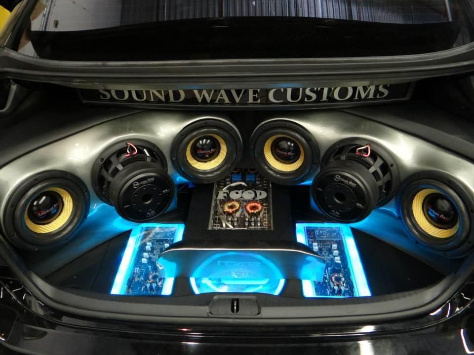 Lexus Ls460l Build Out Sound Wave Customs