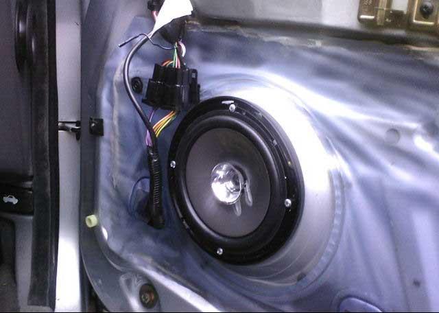 car stereo install