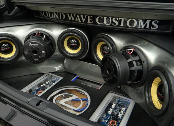 Custom Vehicle Speakers : Service sound wave customs