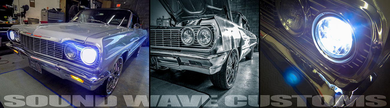 1964 Chevy Impala getting all LED headlights, tail lights, turn signal upgrade!