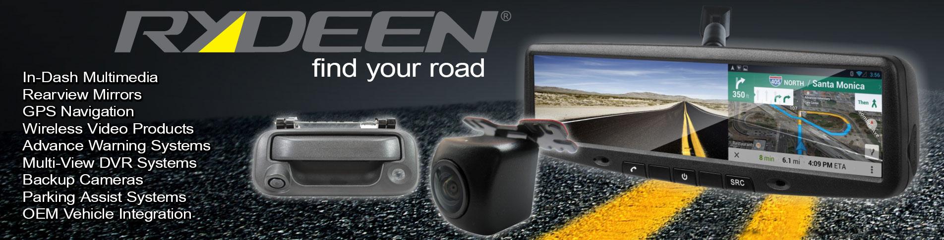 Rydeen - Backup Cameras & Sensors
