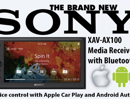 NEW SONY APPLE CAR PLAY & ANDROID AUTO RADIOS IN STOCK NOW!