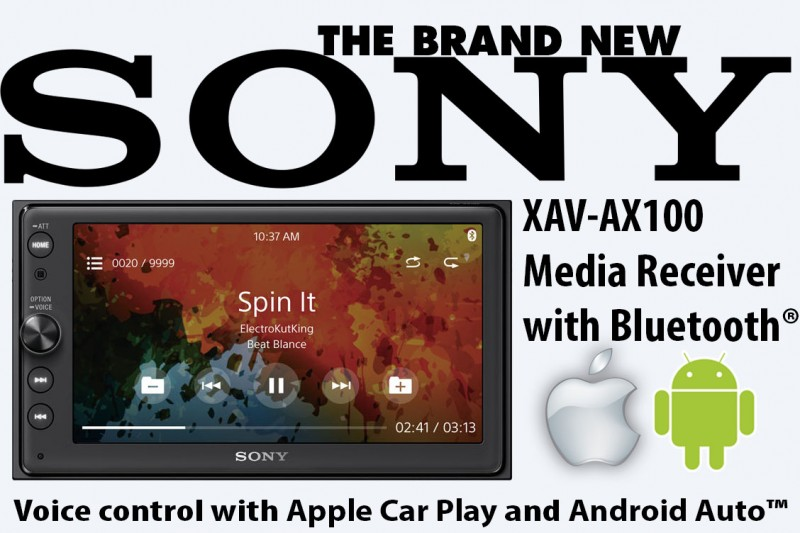 New Sony Apple Car Play Amp Android Auto Radios In Stock Now