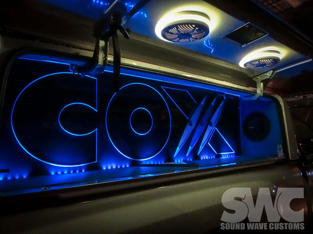 Cox Cable Demo Vehicle Build Out Sound Wave Customs