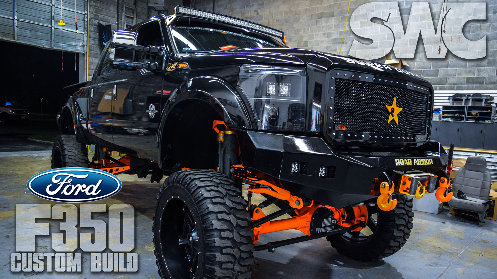 F350 Custom Build Sound Wave Customs
