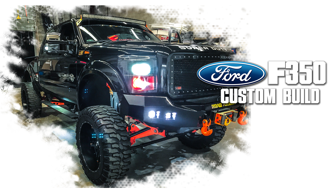 Ford F 350 Custom Build Sound Wave Customs
